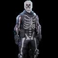 image of skull trooper when it is featured in the item shop - skin de fortnite skull trooper morado