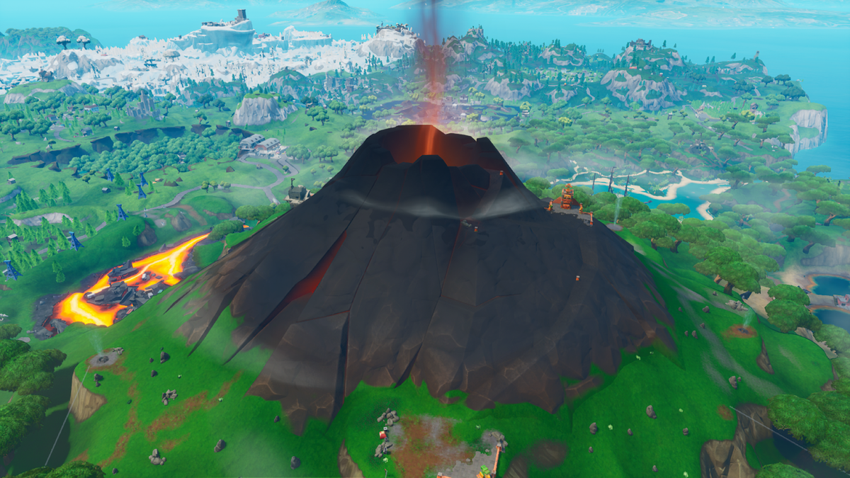 Volcano Poi Fortnite Wiki