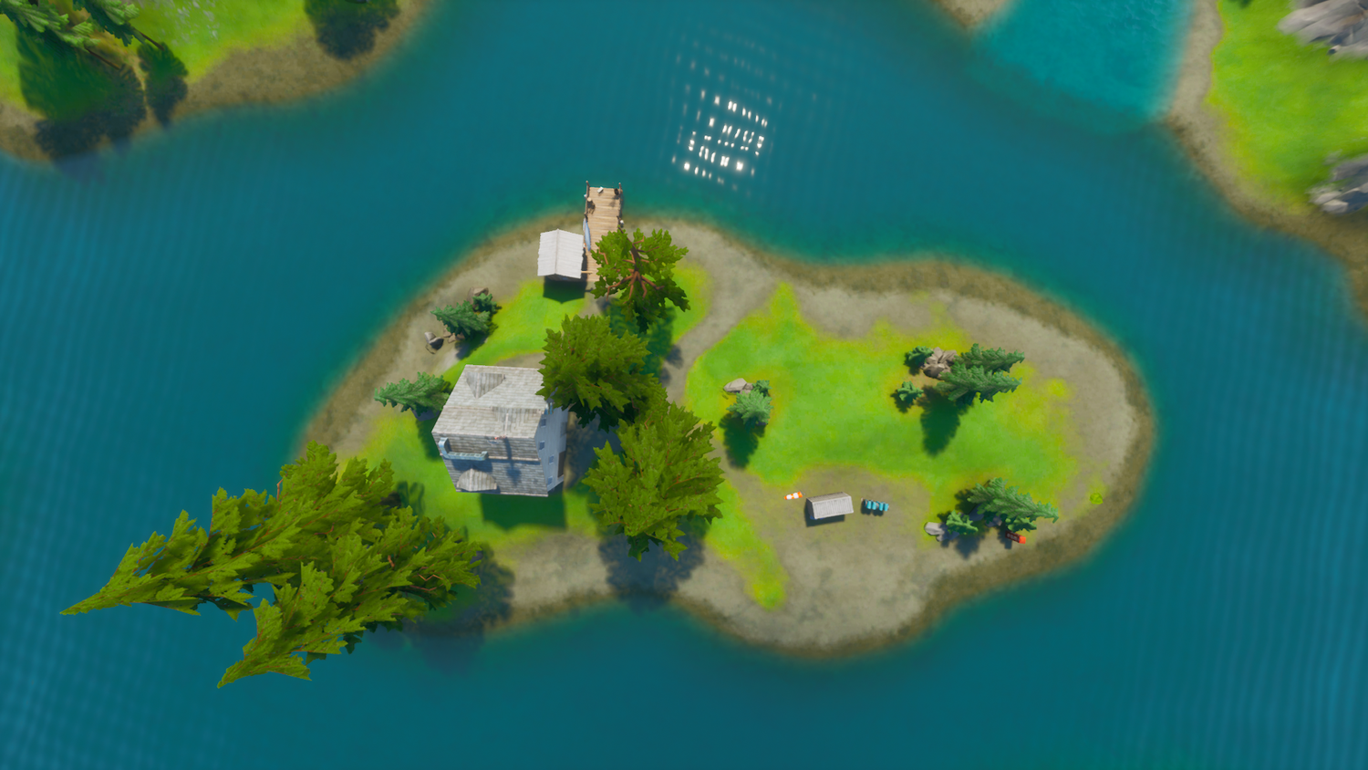 Lazy Lake Island Top View.png