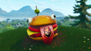 season 5 edit edit source the giant durr burger - where is the burger in fortnite season 5