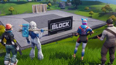 The Block at the start of Season 7