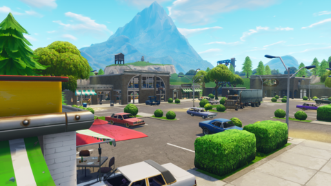 retail row geo 1 png - fortnite background hd png tilted