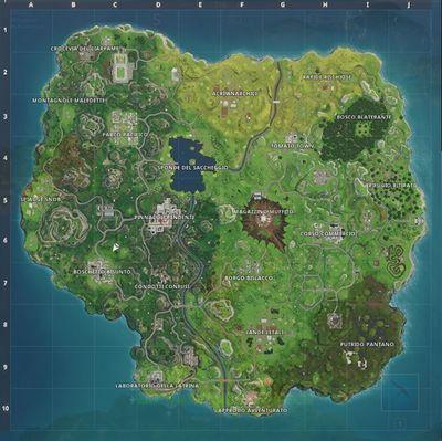 Mappa di Battle Royale