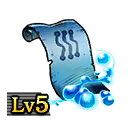 Scroll of Ice Blades Lv5
