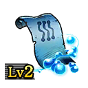 Scroll of Ice Blades Lv2