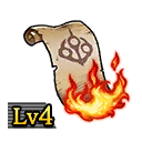 Scroll of Flames Lv4