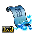 Scroll of Ice Blades Lv3