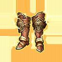 Gold Leo Boots