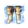 Blue Dragon Knight Boots