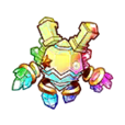 Rainbow Soul Golem