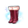 Rouge Long Boots