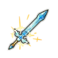 Sparkling Crystal Sword Lumiere