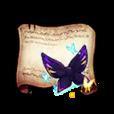 Papillon Ribbon Diagram Piece