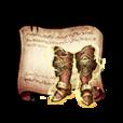 Gold Leo Boots Diagram Piece