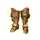 Gold Leo Boots