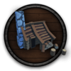 Holzfäller Camp