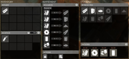 Refinery menu.png