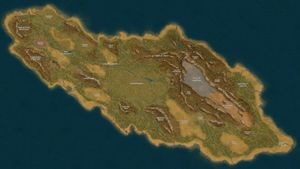 Myr, one of three continents of Syndesia.