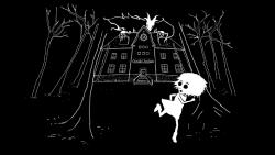 Oswald Asylum unuse cutscene.png