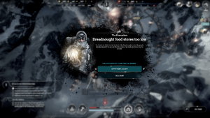The Evacuation - Dreadnought food stores too low.png