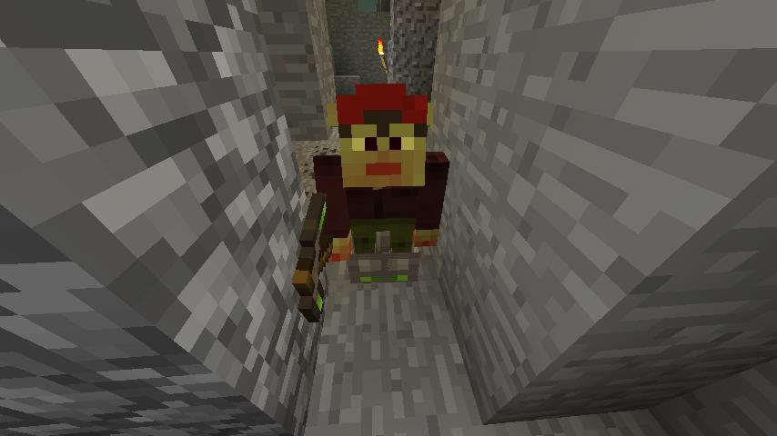 A Redcap Sapper in a Hollow Hill.