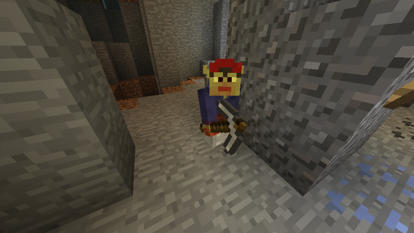 A Redcap Goblin in a Hollow Hill