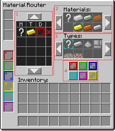 Material Router GUI