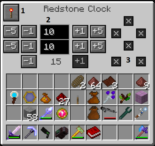 Redstone Clock (Cyclic) - Official Feed The Beast Wiki