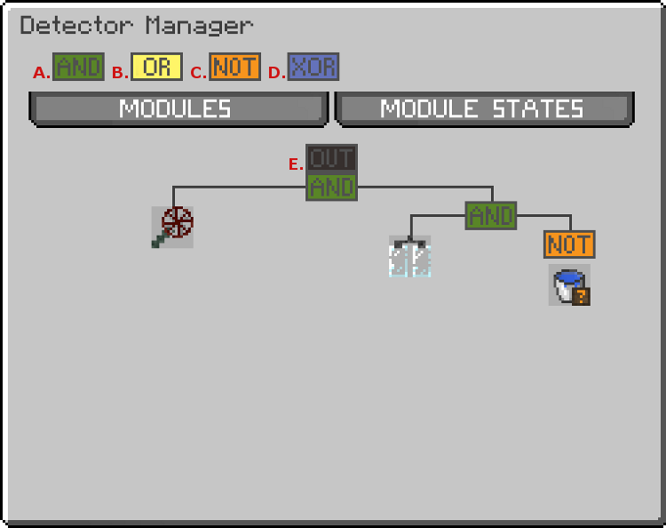 The Detector Manager GUI