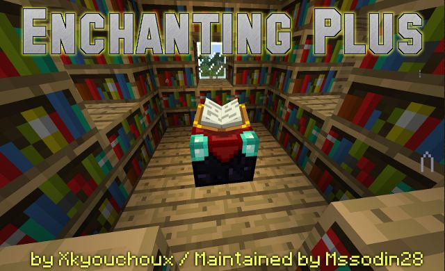 Enchanting Plus - Official Feed The Beast Wiki