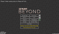 FTB Beyond main menu.png