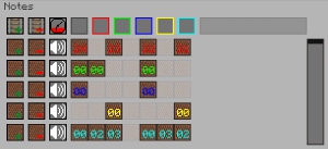 The Note Sequencer GUI