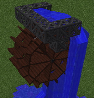 Water Wheel (Immersive Engineering) - Official Feed The