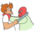 Fry and Zoidberg Battle to the Death.png
