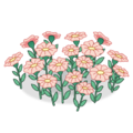 Pink Tropical Flower Bed.png