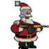Robot Santa Claus action.png
