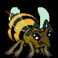 Giant Queen Bee action.png