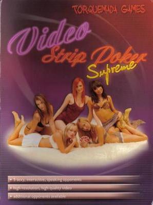 Strip poker video party