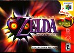 The Legend of Zelda: Majora's Mask box art