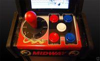 Mortal Kombat arcade controls