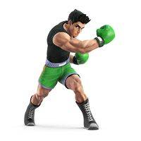 Little Mac as he appears in Super Smash Bros. Wii U and Nintendo 3DS.