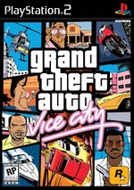 Grand Theft Auto: Vice City box art