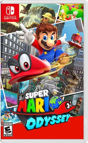 Super Mario Odyssey Codex Gamicus Humanity S Collective
