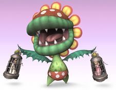 Petey Piranha, as he appears in Super Smash Bros. Brawl