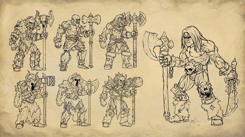 File:Gauntlet Warrior Concept Art.jpg