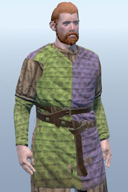 Light Gambeson with Surcoat [Light Armour]