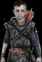 Kratos' son, Atreus.