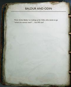 Baldur And Odin God Of War Wiki