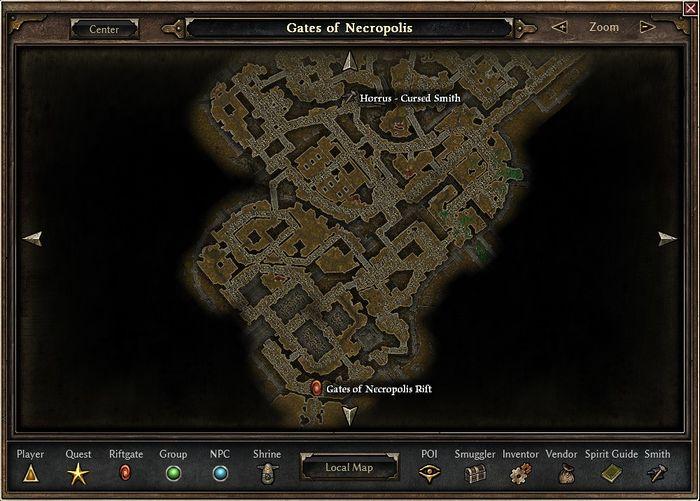 Horrus' Location
