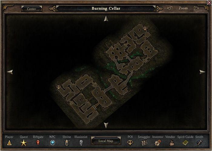 Burning Cellar - Official Grim Dawn Wiki